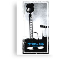 Stolen Car, Bruce Springsteen Canvas Print