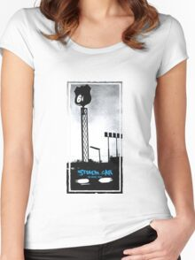 Stolen Car, Bruce Springsteen Women's Fitted Scoop T-Shirt