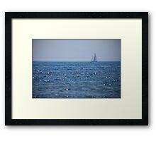 SHIP PROVENCE Framed Print