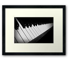 Life Is Like a Piano Framed Print