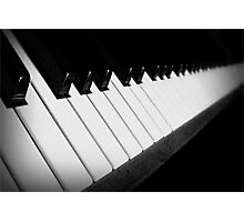 Life Is Like a Piano Photographic Print