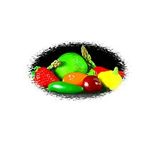 Fruit and Veggies Photographic Print