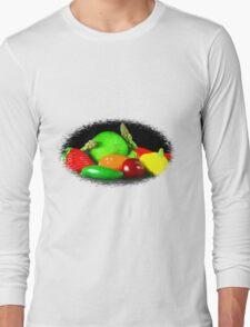 Fruit and Veggies Long Sleeve T-Shirt