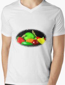Fruit and Veggies Mens V-Neck T-Shirt