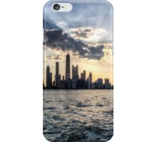 Chicago - Sunset 3 iPhone Case/Skin