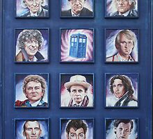 Eleven Doctors and the TARDIS: 50th Anniversary by Nancy Lorenz
