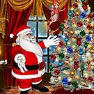 Santa`s Christmas Tree by LoneAngel