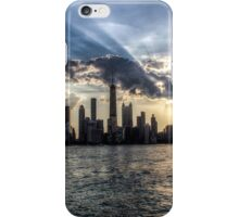 Chicago Skyline - Sunset 5 iPhone Case/Skin