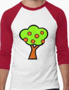 Fruit Tree Men's Baseball ¾ T-Shirt