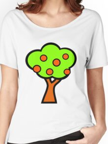 Fruit Tree Women's Relaxed Fit T-Shirt
