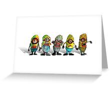 zombie minions Greeting Card