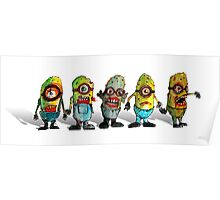 zombie minions Poster