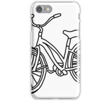 Beach Cruiser Bicycle  iPhone Case/Skin