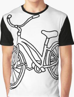 Beach Cruiser Bicycle  Graphic T-Shirt