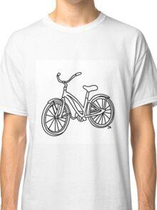 Beach Cruiser Bicycle  Classic T-Shirt