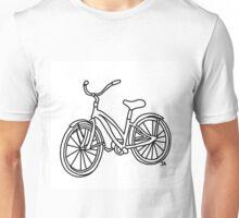 Beach Cruiser Bicycle  Unisex T-Shirt