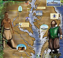 CHESAPEAKE BAY HISTORY by Patrick Belote