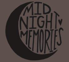 Midnight Memories Moon- Black Kids Clothes