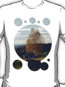 Tree, road and indian summer evening II   landscape photography T-Shirt