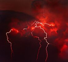 Blood Lightning by ScenicRevival