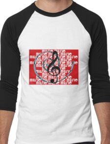 G_clef Men's Baseball ¾ T-Shirt