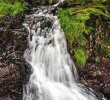 Snowdonia Waterfall by Paul Madden
