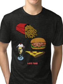 Love Food Tri-blend T-Shirt