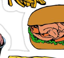 Love Food Sticker