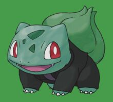 Bulbasaur as the 9th Doctor Kids Clothes