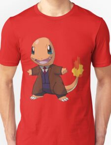 Charmander as the 10th Doctor T-Shirt