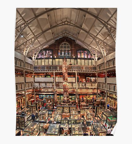 Pitt Rivers Museum Oxford Poster
