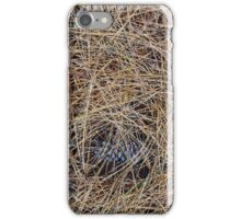 """Real Tree Design for Hunting & Shooting """"Pine Needles"""" #1 iPhone Case/Skin"""