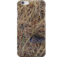 "Real Tree Design for Hunting & Shooting ""Pine Needles"" #2 iPhone Case/Skin"