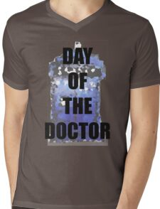 DAY OF THE DOCTOR! Mens V-Neck T-Shirt