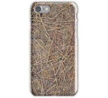 "Real Tree Design for Hunting & Shooting ""Pine Needles"" #3 iPhone Case/Skin"