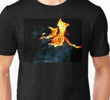 fire rose Unisex T-Shirt