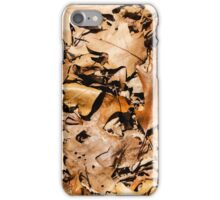 "Real Tree Design for Hunting & Shooting ""Leaves"" #2 iPhone Case/Skin"