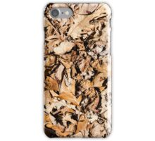 "Real Tree Design for Hunting & Shooting ""Leaves"" #3 iPhone Case/Skin"