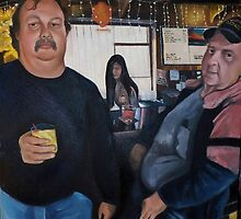 America The Working Poor: Portrait of Hank and Mike, 2013 by Artist Antonia Posey
