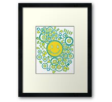 Happy_Music Framed Print