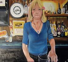 America The Working Poor: Portrait of Debbie Fay, 2013 by Artist Antonia Posey