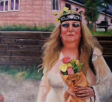 America The Working Poor: Portrait of Cindy, 2013 by Artist Antonia Posey