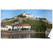 Festung Marienberg Poster