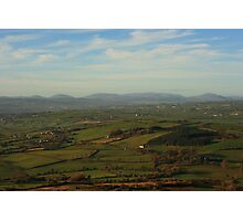 The Bluestacks From Croaghan Hill Photographic Print