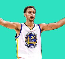 Steph Curry #3 by memyselfandi135