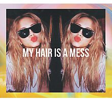 MY HAIR IS A MESS 1. PRINT Photographic Print