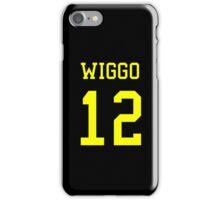 Wiggo 12 Jersey iPhone Case/Skin