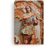 Angel at San Xavier Mission Canvas Print