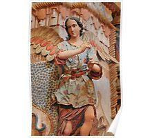 Angel at San Xavier Mission Poster