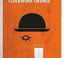 Clockwork Orange Film Poster by quimmirabet